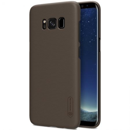 Nillkin Frosted Shield Hard Case Back Cover for Samsung Galaxy S8+ Plus - Brown