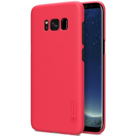 Nillkin Frosted Shield Hard Case Back Cover for Samsung Galaxy S8+ Plus - Red