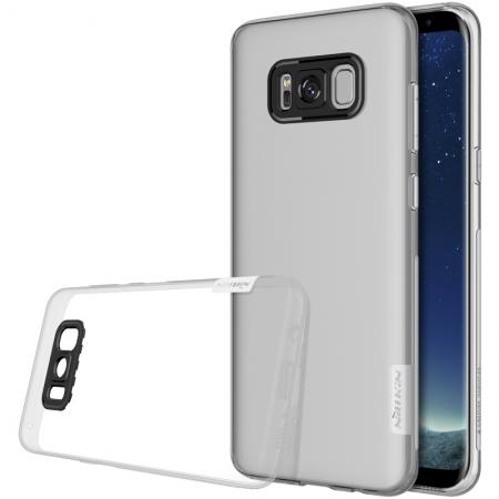 Nillkin Nature Series Clear Soft TPU Case Back Cover Ultra Thin Slim Fit for Samsung Galaxy S8 - Clear