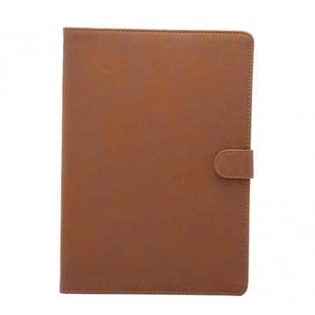 Retro Matte PU Leather Stand Smart Flip Case for New iPad 9.7 (2017) - Brown