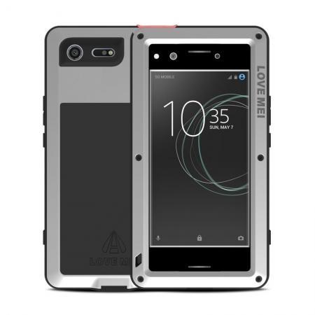 half off ca6fa 059c2 Aluminum Waterproof Shockproof Metal Gorilla Hard Cover Case For Sony  Xperia XZ Premium - Silver