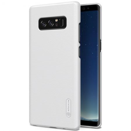 hot sale online d06d1 46cf9 Nillkin Matte Hard Back Cover Skin Case + Screen Film For Samsung Galaxy  Note 8 - White