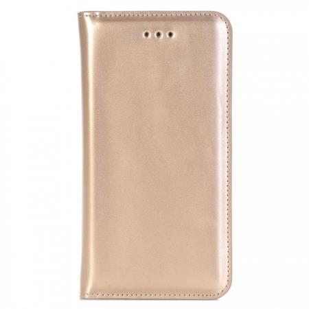 Magnetic Magnet Detachable Removable 2 in 1 Wallet PU Leather Case for iPhone 8 4.7 inch - Gold