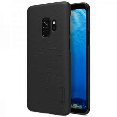 NILLKIN Super Frosted Shield Hard Case Cover for Samsung Galaxy S9 - Black
