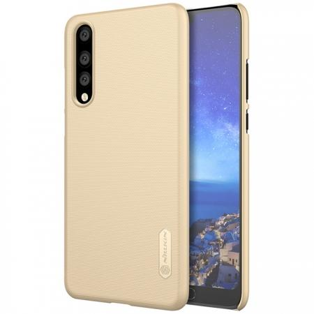 NILLKIN Super Frosted Shield Hard Case Cover for Huawei P20 Pro - Gold