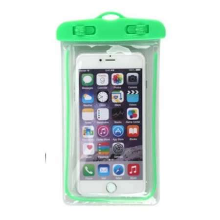 For LG G8 / G8S ThinQ Mobile Phone Waterproof Dry Case Bag Pouch - Green