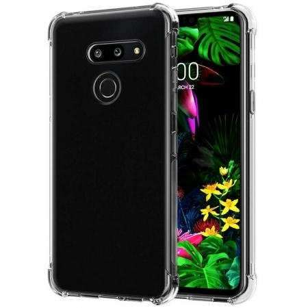 For LG G8S ThinQ Case Crystal Clear TPU Shockproof Phone Cover
