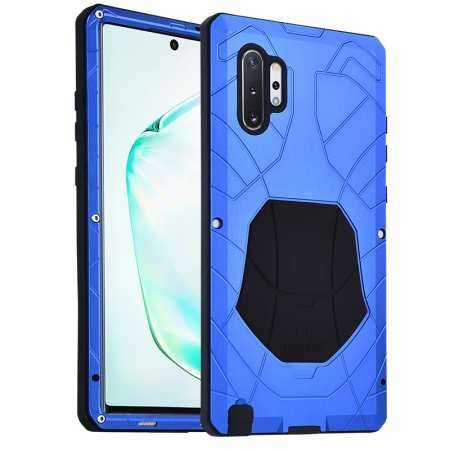 Luxury Armor Metal Case Shockproof Cover For Samsung Galaxy Note 10 - Blue