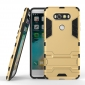 Slim Armor Shockproof Cover Hybrid Kickstand Protective Case for LG V20 - Gold
